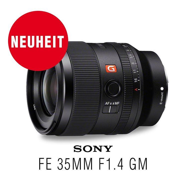 Sony FE 35mm F1,4 GM