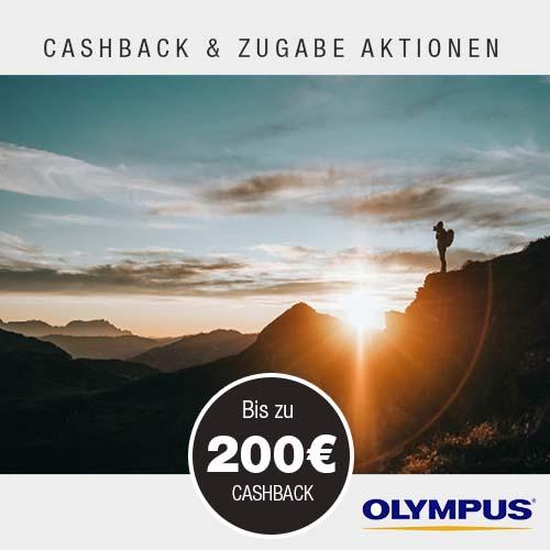 Olympus Cashback Aktionen