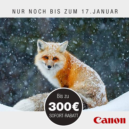 Canon Winterpromotion