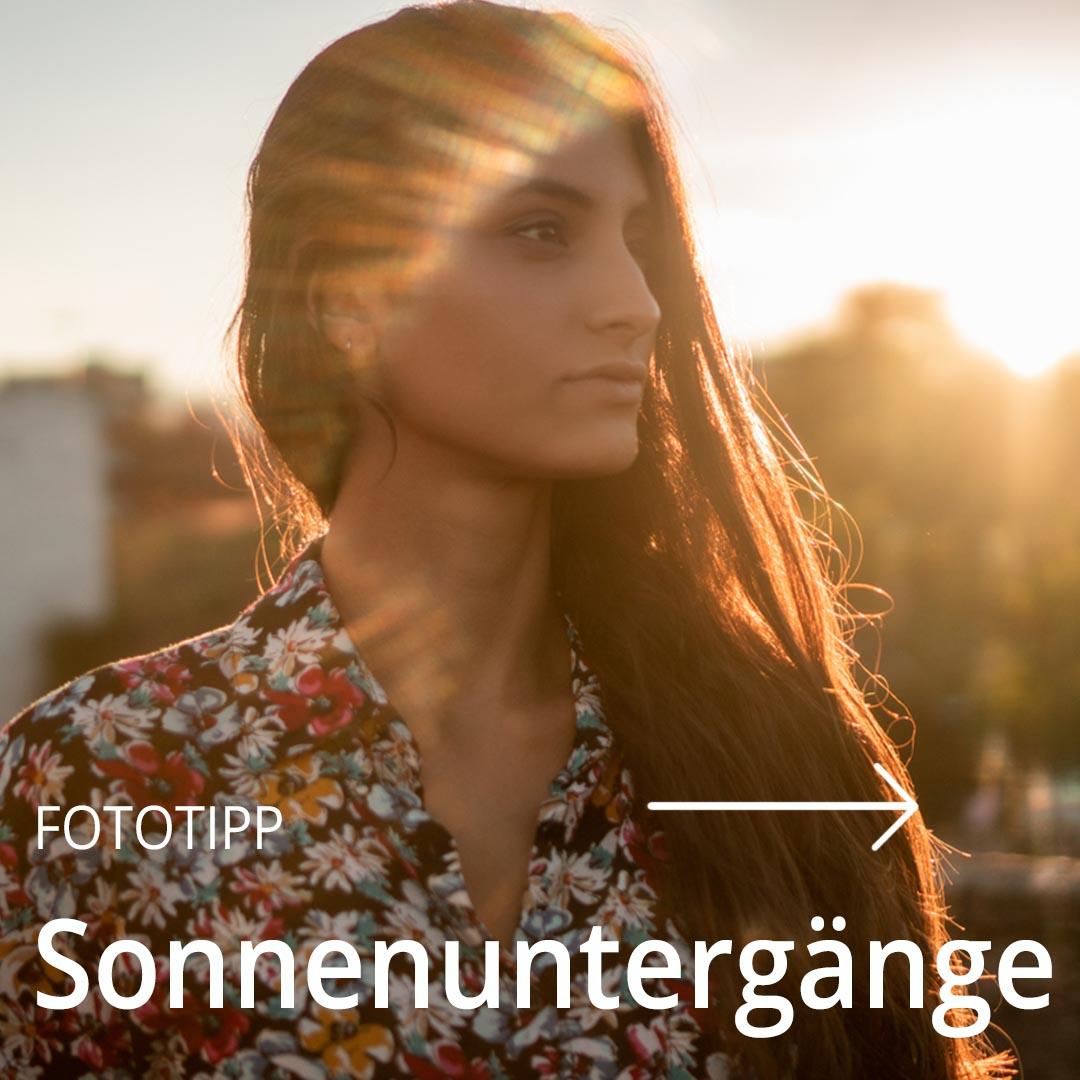 Fototipp Sonnenuntergänge
