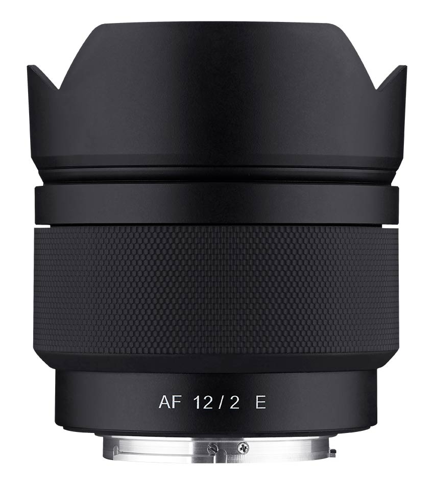 Samyang AF 12 mm F2,0 Superweitwinkel-Objektiv
